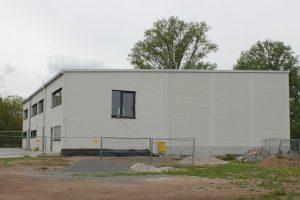 Ab Januar 2019 ist unser Anbau mit Umkleideräumen und die sanitären Anlagen fertig gestellt