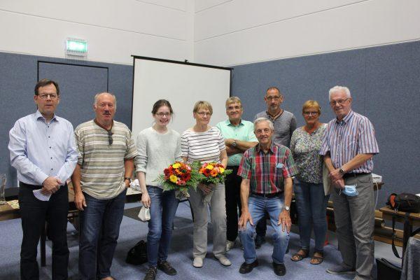 Auf der Mitgliederversammlung am 18. September wurde der neue Vorstand gewählt!