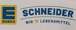 Sponsorentafel_Edeka Schneider
