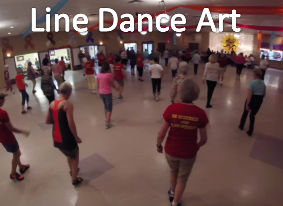 Neuer Kurs für Körper und Gedächtnis: Line Dance Art